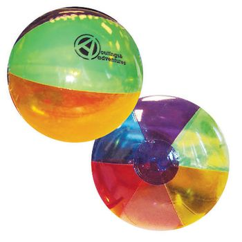 "16"" Frosted Beach Ball"