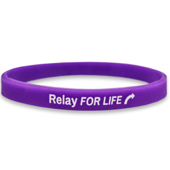 1/4 Inch Embossed Printed Wristbands