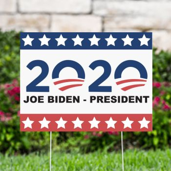 2020 Joe Biden President Political Yard Signs
