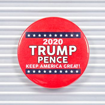2020 Trump Pence Pin Buttons