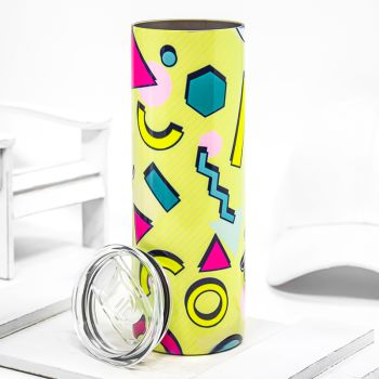 20 Oz. Custom Printed Fluorescent Stainless Steel Tumblers