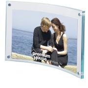 """Arc Acrylic Frame - 6"""" x 4"""""""
