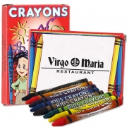8 Pack Of Crayons