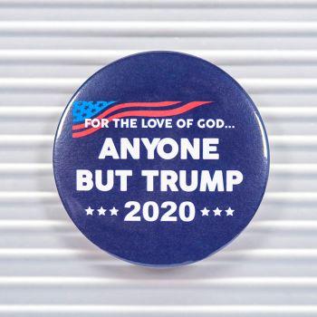 Anyone But Trump 2020 Pin Buttons