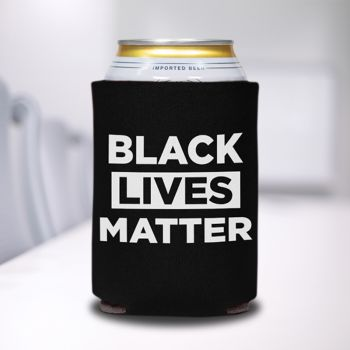 Black Lives Matter Stock Can Coolers