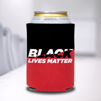 Black Lives Matter Red Can Coolers