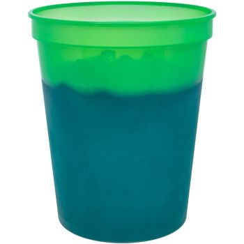 Blank 16oz Color Changing Stadium Cups