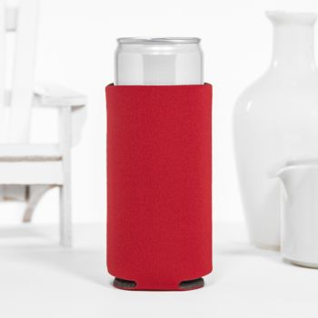 Blank Foam Collapsible Slim Can Coolers
