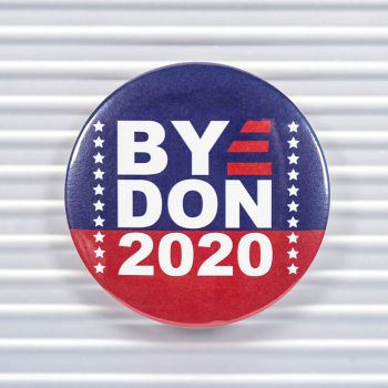 Bye Don 2020 Pin Buttons