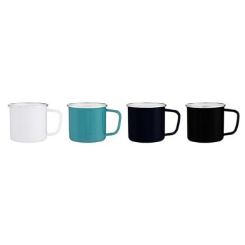 Custom 13 Oz Whitney Enamel Mugs