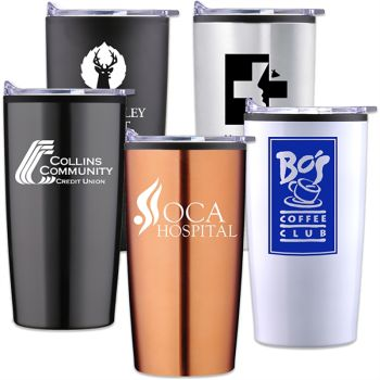Custom 20 Oz Econo-Stainless Steel Traveler Tumblers