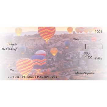 Custom Balloon Big Checks