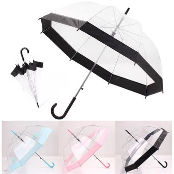Custom Clear Dome Umbrella