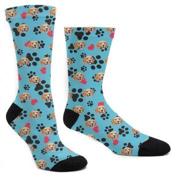 Custom Dog Paw Socks