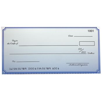 Custom Economy Giant Checks 30 x 60 Inch