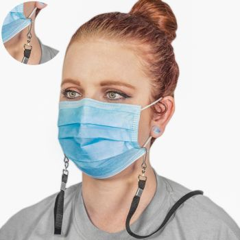 Disposable Face Mask With Lanyard