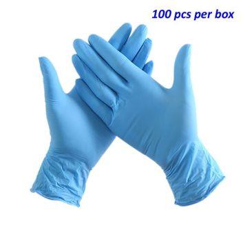 Disposable Nitrile Gloves - Box of 100pcs