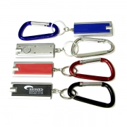 Flashlight Key Chain and Carabiner