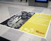 Custom Floor Graphic Ad 1' X 2'