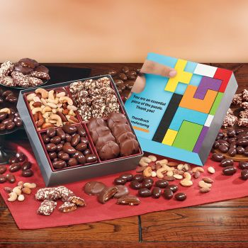 Full Color Gift Boxes with Gourmet Treats