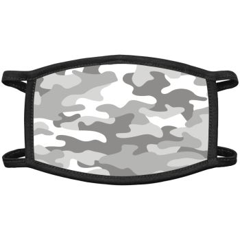 Grey Camo Face Masks