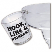 Custom Hook Shot Glass -2oz