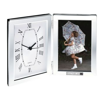 Jadis Desk Clock & Photo Frame