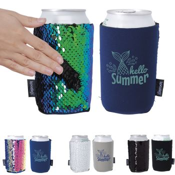 Koozie® Sequin Can Kooler