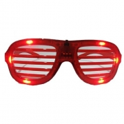 Light-Up LED Slotted Glasses