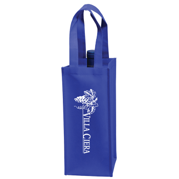 Non-Woven Wine Tote Bag - Screen Print