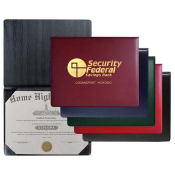 Padded Heat Sealed Diploma Holders