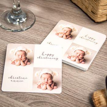 "Paper Coasters - 3.5"" Square"