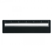 Plastic Ruler With Magnifying Glass 6""