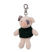 Custom Plush Wild Bunch Key Tags-pig