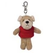Custom Plush Wild Bunch Key Tags- Bulldog