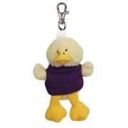 Custom Plush Wild Bunch Key Tags- Duck