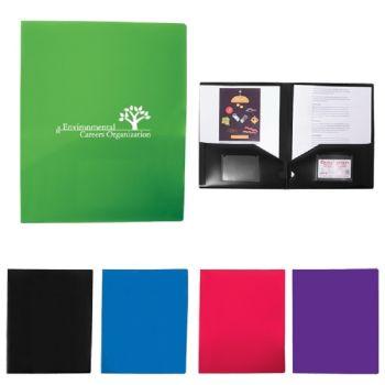 Polypropylene 2 Pocket Folder