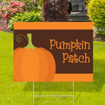 Pumpkin Patch Yard Signs
