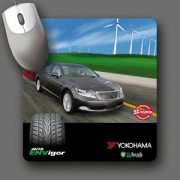 Custom Retreads (r) Recycled Tire Mouse Pad