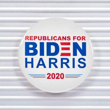 Republican For Biden Harris 2020 Pin Buttons