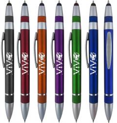 Custom Spencer Stylus 3 In 1 Pen