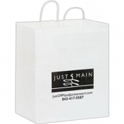 Takeout White Bag
