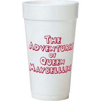 Tall White Styrofoam Coffee Cup - 20 oz