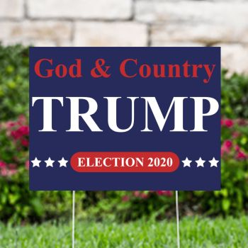 Trump Election 2020 Political Yard Signs