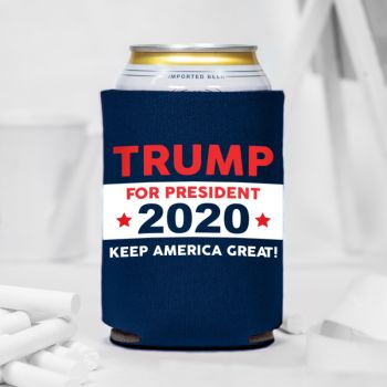 Trump For President 2020 Can Coolers