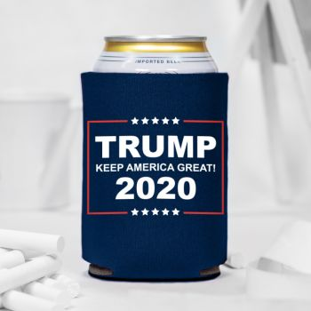 Trump Keep America Great 2020 Can Coolers