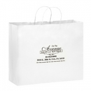 Vogue White Paper Bag