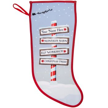 Your Name Christmas Destination Stockings