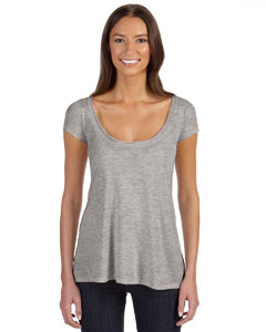 Custom Alternative Ladies Short-sleeve Drape Top