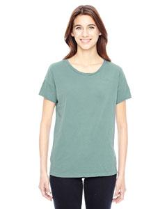 Custom Alternative Ladies Distressed Rocker T-shirt